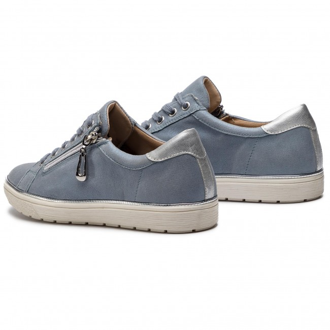 Femme met Plates Spring summer 2019 Chaussures 22 23606 Blue Sue 9 Caprice 861 Basses wv8ON0mn