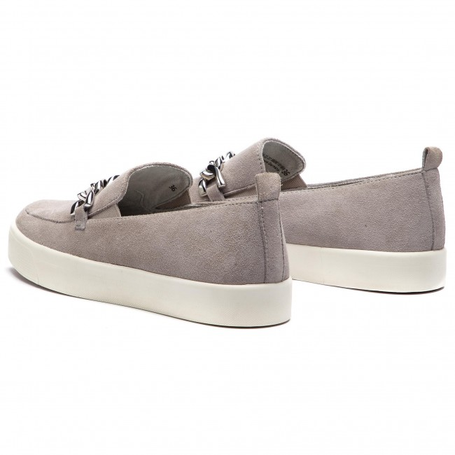 Chaussures Basses 9 22 201 Suede Grey 24200 Lt Caprice NwmnvOy80