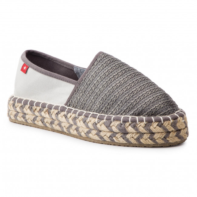 2019 Grey summer Spring Espadrilles Chaussures Basses Femme Big Dd274a203 Star FlcK1J