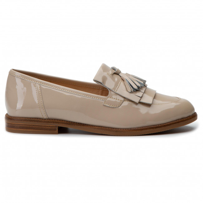 Loafers Femme 22 9 418 Spring Beige 24204 Patent Basses summer 2019 Caprice Chaussures BoeCrdx