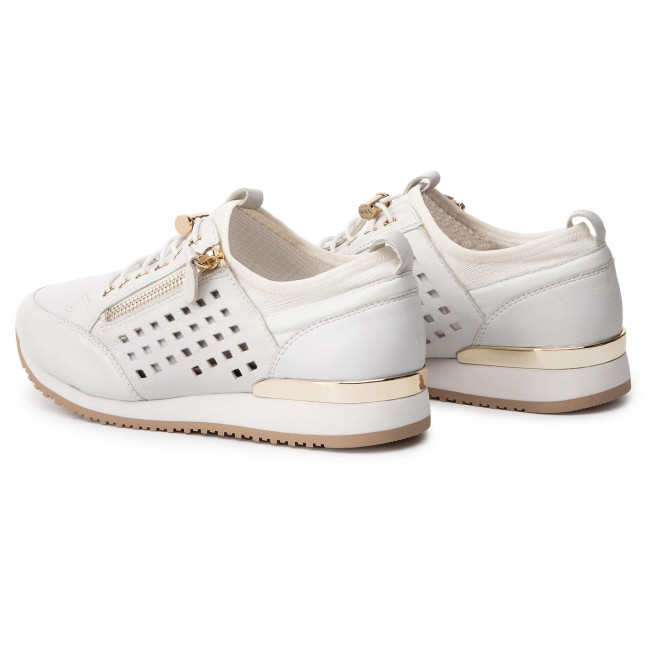 22 197 Basses Femme Comb Spring summer White Chaussures 23500 Caprice 2019 Sneakers 9 PkZuXi