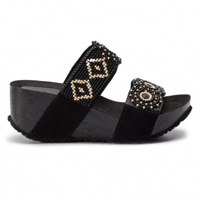 19sshf03 Desigual Bain 2000 Cycle MulesSandales De Shoes Beads WD92HIE