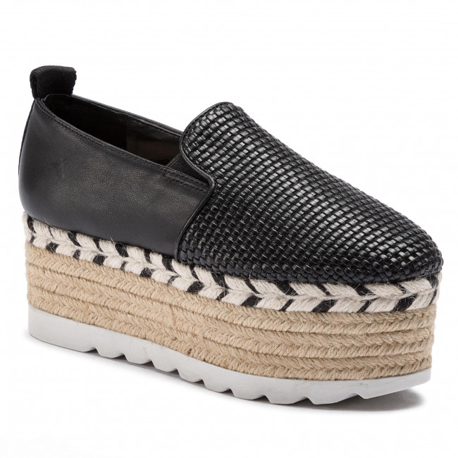Espadrilles Ele14 Black Guess Chaussures Femme summer Fl6gns 2019 Spring Genisis Basses 0PkO8nw