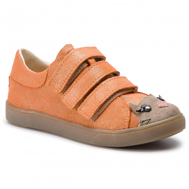 Maki 9 2019 Mruga 03 Fille 3380 Sneakers Chaussures Basses Kitty Enfant Coral summer Spring a Scratch Fermeture 3qA4R5jL