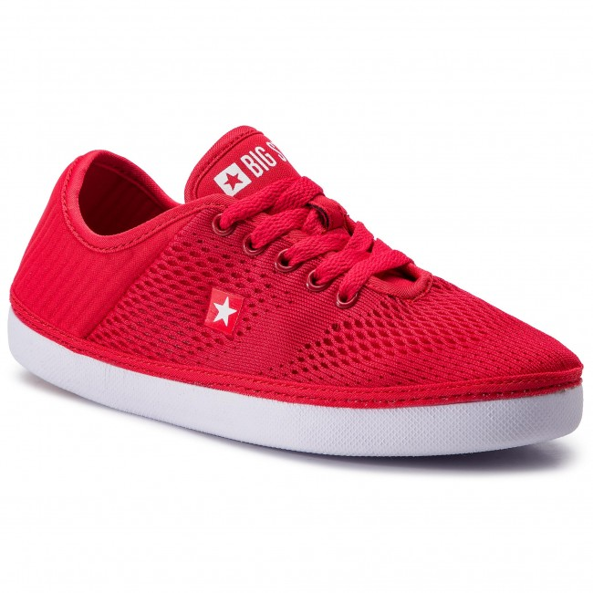 Spring Dd274a420 Red Baskets Chaussures Tennis Basses Big Star summer 2019 Femme 8nwPkO0