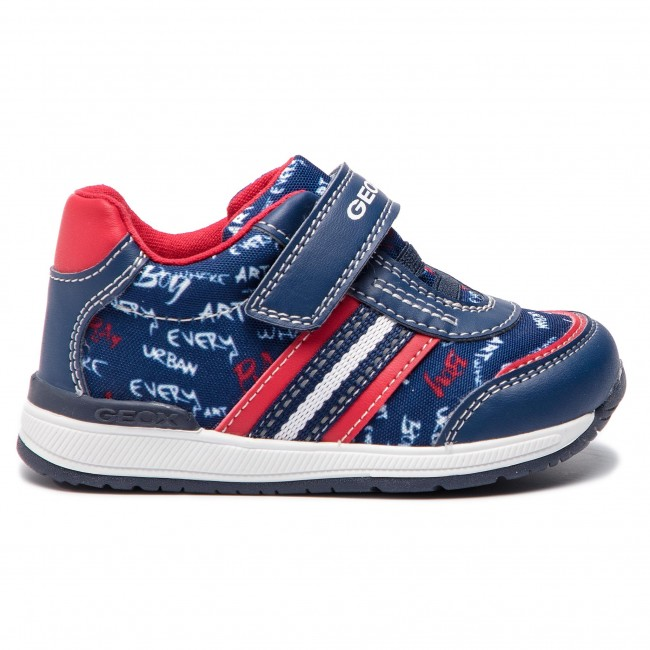 Fermeture 0aw54 Chaussures on 2019 BB920rb Geox Basses Enfant red B C0735 Scratch summer Spring Navy Sneakers M Gar Rishon xeoCdB