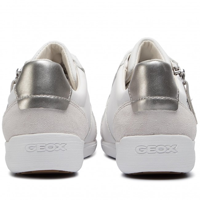 Femme summer D8468b Geox D Myria C1001 Chaussures 2019 Basses B White 08522 Sneakers Spring QCBWrxode