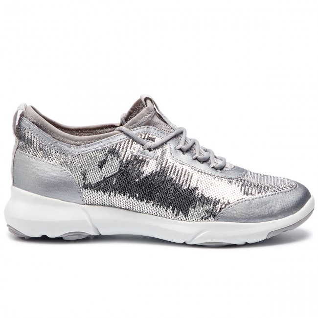 Nebula X A C1007 D Basses D92bha Chaussures Silver Geox 000at WE9IYH2D