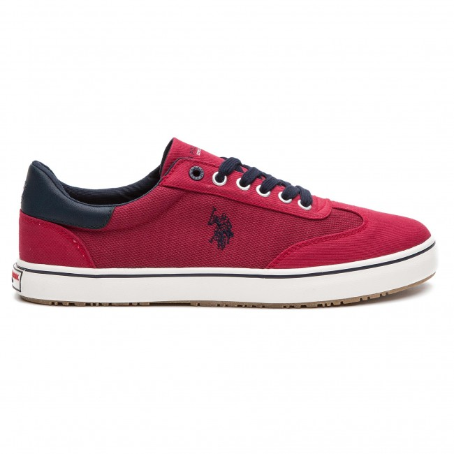 Tennis Marcs4102s9 sPolo Red U AssnTed1 c1 mn80wN