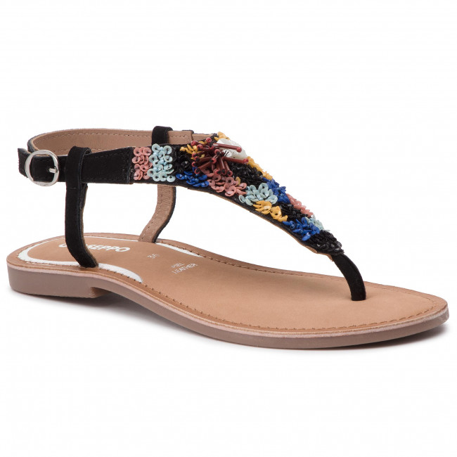 summer Sandales Black 2019 Gioseppo Et Mules Spring Femme 49068 Decontractees QWCexrdBo