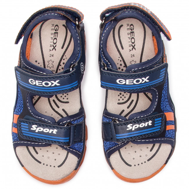 summer Mules Gar Spring M Enfant J 01454 Geox Et J920qa on BA orange C0659 Sandales S android Navy 2019 XiOPkZu