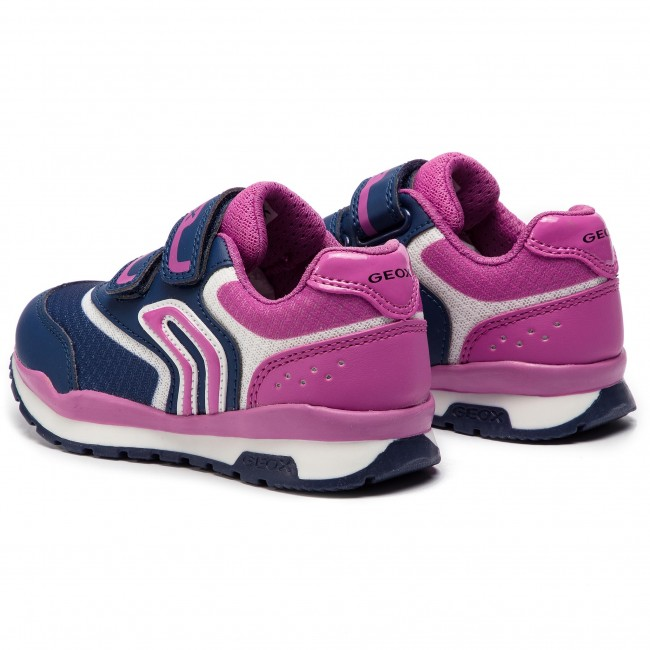 fuchsia S J Scratch Fille J928ca 01454 Basses Navy Chaussures Spring C4268 Sneakers GA Geox Enfant summer Fermeture 2019 Pavel 08OPnwk