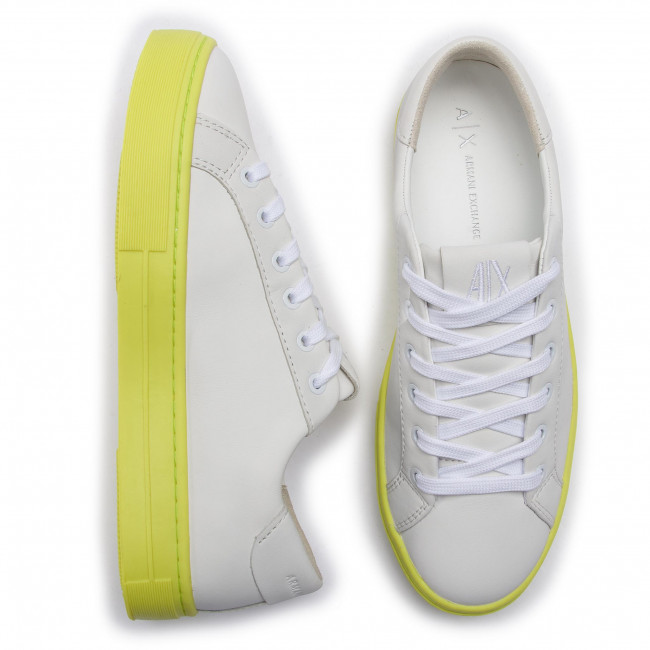 summer Spring Exchange White Basses Femme Xdx027 yellow Chaussures Sneakers Armani 2019 A169 Xcc14 CxoerdB