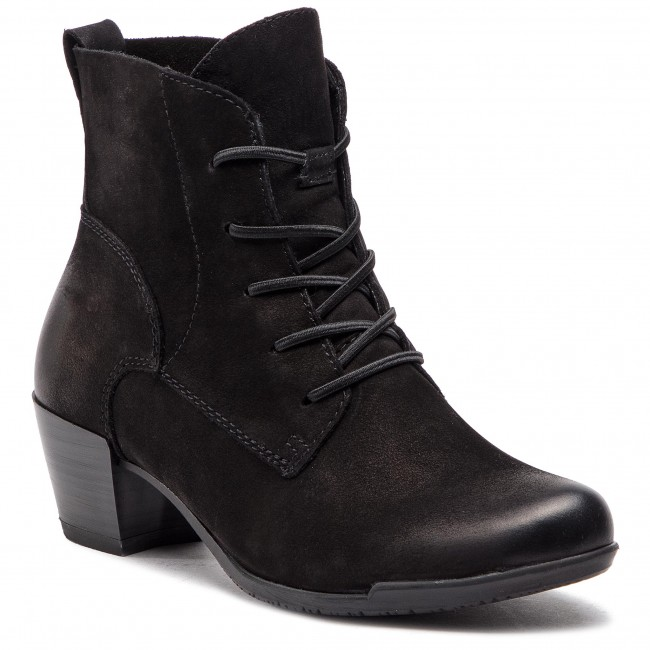 001 21 Tamaris Black 25108 Bottines Bottes 1 waYnqxAR
