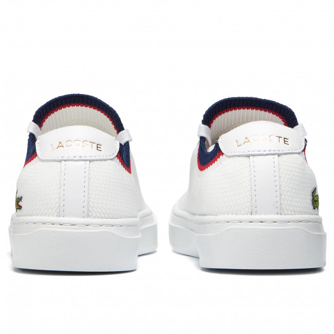 a160ae1d64 Sneakers LACOSTE - La Piquee 199 1 Cma 7-37CMA0038407 Wht/Nvy/Red - Sneakers  - Chaussures basses - Homme - www.chaussures.fr