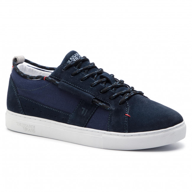 Spring 2019 Homme summer Trussardi U250 Sneakers Jeans Chaussures 77a00130 Basses yfY7b6gv