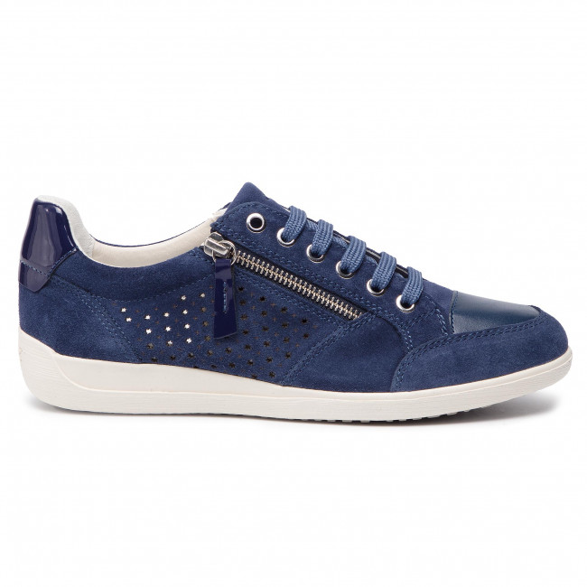 Geox D 00022 Spring Basses A C4000 2019 Blue D9268a Femme Myria Chaussures Sneakers summer c1JTFKl3