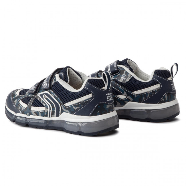 C4211 Geox Spring J9244c Enfant Fermeture Chaussures D Basses Gar 2019 white on J Android 01454 summer Navy Sneakers BC Scratch m6IYfy7vbg