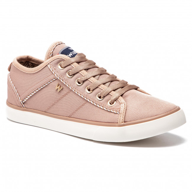 Wrangler Spring 080 Basses Wl91540a Femme Chaussures Tennis Baskets summer Starry 2019 Lace Rose nmNOv08w