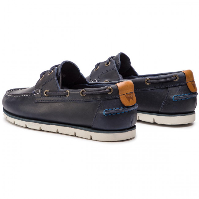 Wrangler Navy Spring Chaussures 016 Wm91070a 2019 Basses Wave Homme Mocassins summer BxdoCer
