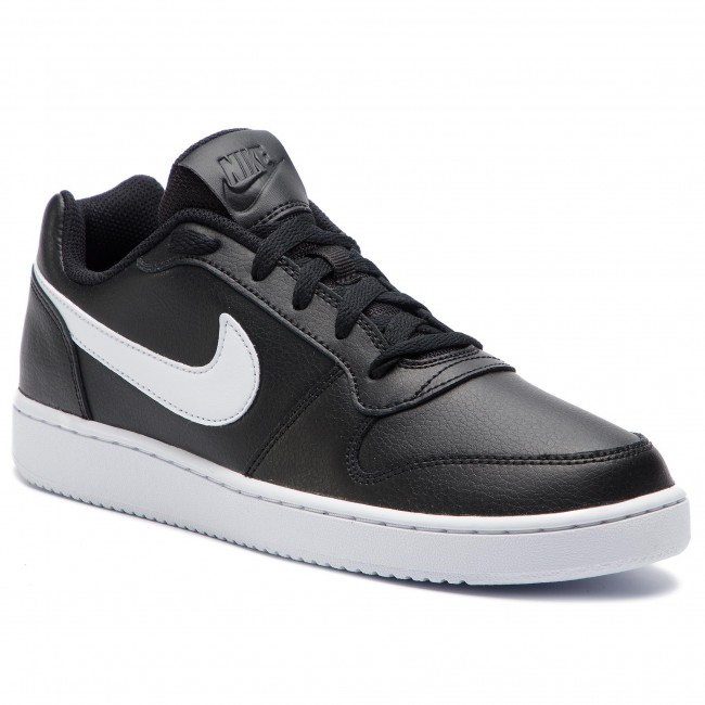 a38ee0d97a5 Chaussures NIKE - Ebernon Low AQ1775 002 Black White - Sneakers ...