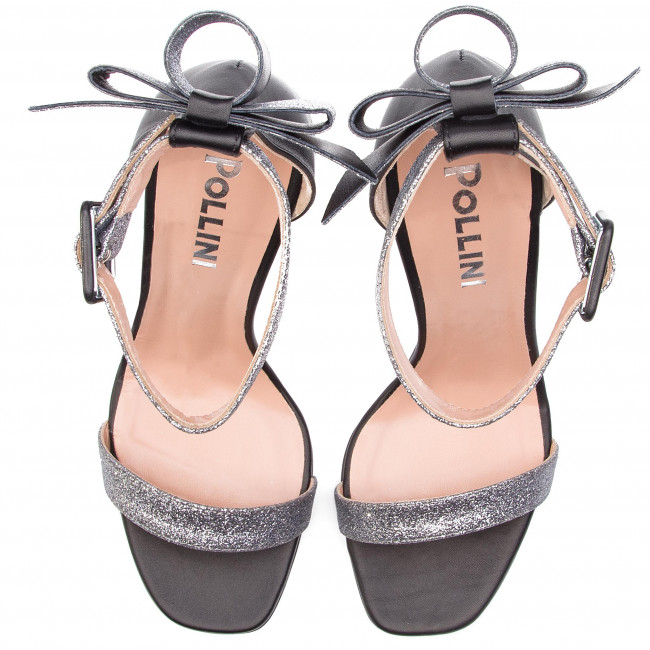 Mules summer Spring 2019 ner Chics Sa1646ac07t6190b Acc Et Femme Pollini Sandales DIEH29