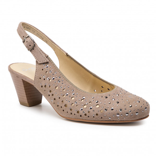 6c7c9b7f842c1a Sandales ARA - 12-32009-65 Taupe - Talons - Chaussures basses ...