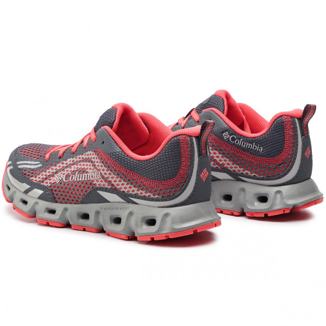Iv Bl4617 Columbia Drainmaker Chaussures Graphite Coral red De Trekking hQxsCtrd