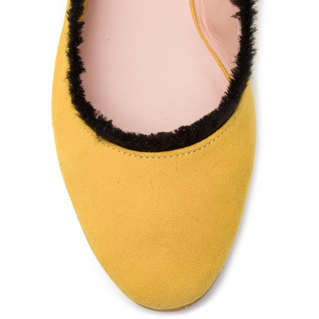Candy Ballerines Z27 L37 Cotton Jaune ZiOPkuXT