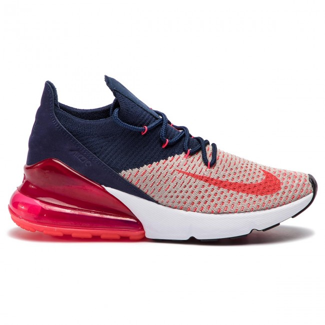 online store b7b5a 33e11 Chaussures NIKE - Air Max 270 Flyknit AH6803 200 Moon Particle Red Orbit