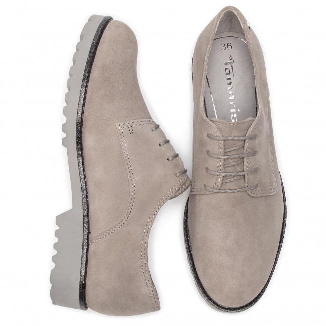 Fall 23725 Femme Tamaris Basses 228 Derbies Richelieusamp; Cloud 2018 21 winter 1 Suede Chaussures cFJlK1