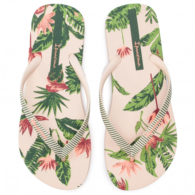 Ipanema Beige Tropical Fem 21630 26284 I Tongs Love green R4AjL5