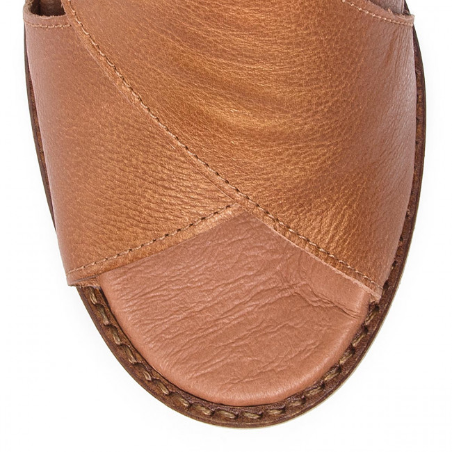 Mules London Tan Decontractees Sandales Spring summer Femme 2019 Et Fly Zakofly P144438003 76gfyYb