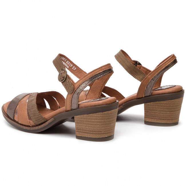 Et Spring Mules Femme London tan 2019 brown Decontractees Sandales Bronz P144441001 Fly summer Zeusfly JlK1cF