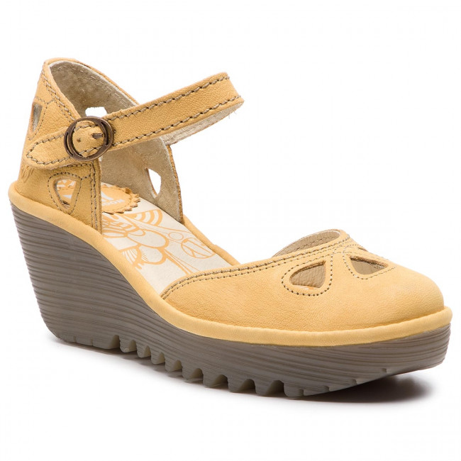Compensées Sandales London P500016145 Fly Yuna W8kn0op Bumblebee Mules vymwN8On0