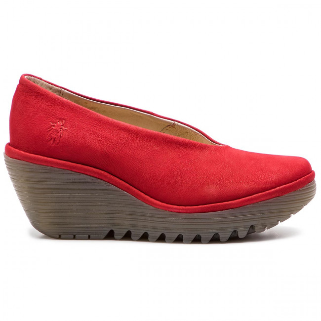 London Fly Basses P500025230 Red Chaussures Yaz Lipstick LUVMpGSzq