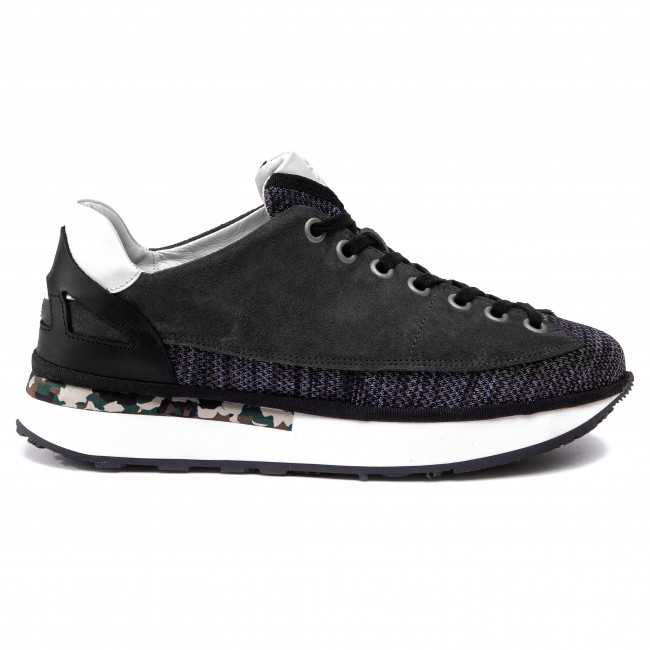 Sneakers Blu char Fly wh P501039001 blk London Dazofly sdQrBthoCx