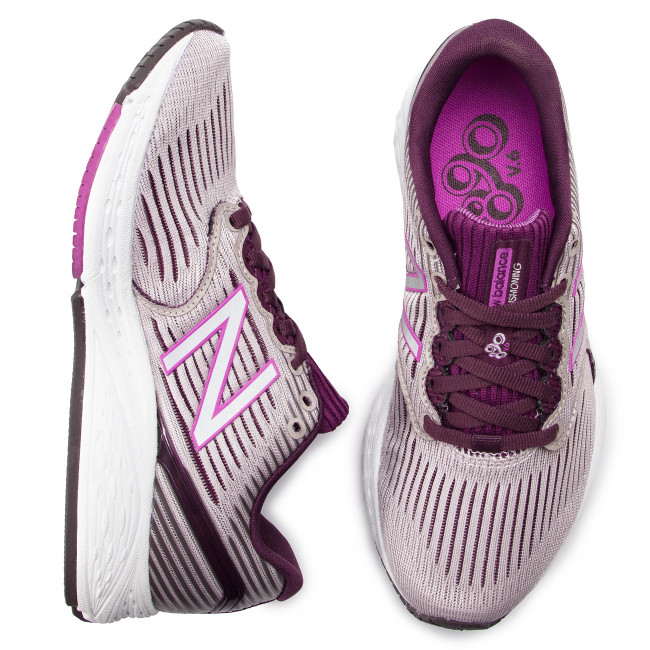 Chaussures NEW BALANCE W890LC6 Beige Violet