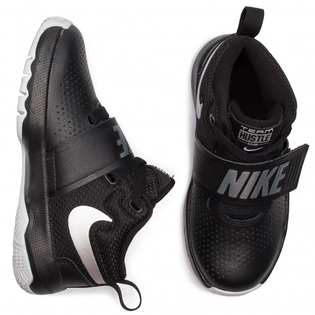 8ps881942 metallic winter 2018 Team Chaussures q4 D Black Silver Lacets on Hustle 001 Nike Gar Enfant Fall a white Basses 8nPkXwN0O