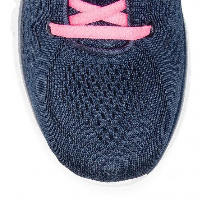 Get Skechers 12615 nvhp Pink Navy hot Chaussures Connected A4LR5j