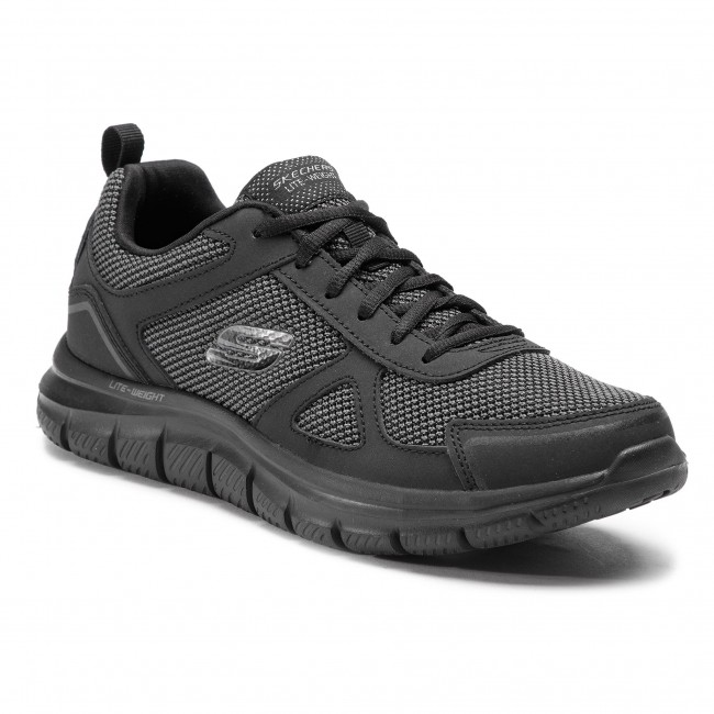 5d7224821b1 Chaussures SKECHERS - Bucolo 52630 BBK Black - Fitness - Chaussures ...