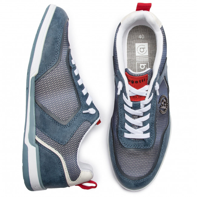 Sneakers Spring 2019 72602 4000 Blue summer 5900 Chaussures Homme 321 Basses Bugatti AqRL34j5