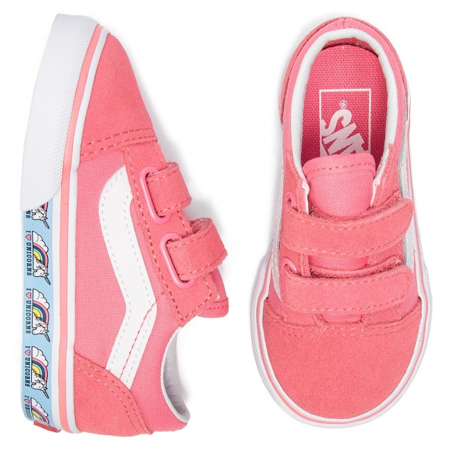 Vans Tennis Old Skool V VN0A344KVE01 (Unicorn) Strawberry