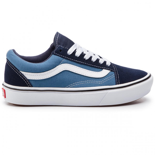 Vans Chaussures Baskets Tennis Basses Fall Femme Navy 2019 stv Comfycush Vn0a3wmavnt1classicNavy Sko winter q3 Old nm8wN0Ov