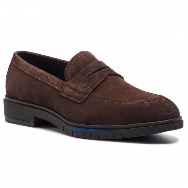 Tommy Dressy Loafer Coffee Bean Fm0fm02172 Basses Suede 212 Chaussures Flexible Hilfiger kiuPZOX