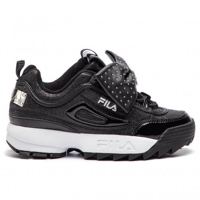 Sneakers Glam Fall Low Basses Femme Black Chaussures Fila 2018 25y winter Disruptor 1010537 Wmn OknPw0