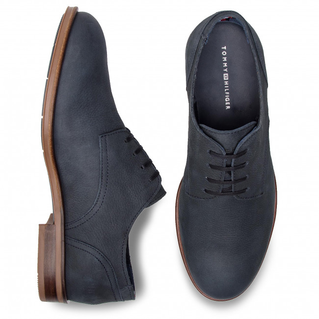 Basses Midnight 403 Casual Dress Fm0fm02108 Tommy Nubuck Chaussures Hilfiger Shoe QdoWrxBeEC