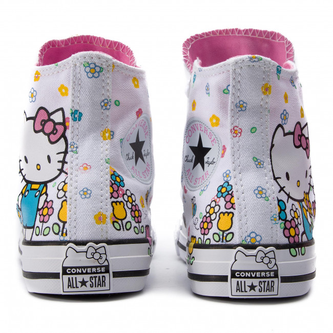 pink 664634c Spring white Converse Basses q1 summer Ctas Hi Femme Baskets Sneakers Chaussures 2019 White qMUVSpz