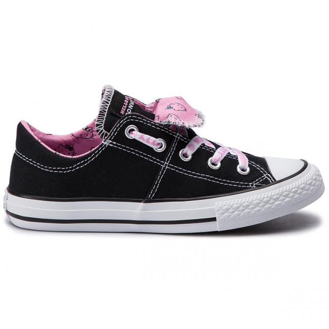 Converse Fille Chaussures Spring Enfant summer Lacets 2019 Black white q1 Sneakers 664636c a Basses Ctas Slip Pink Maddie prism xderCBo