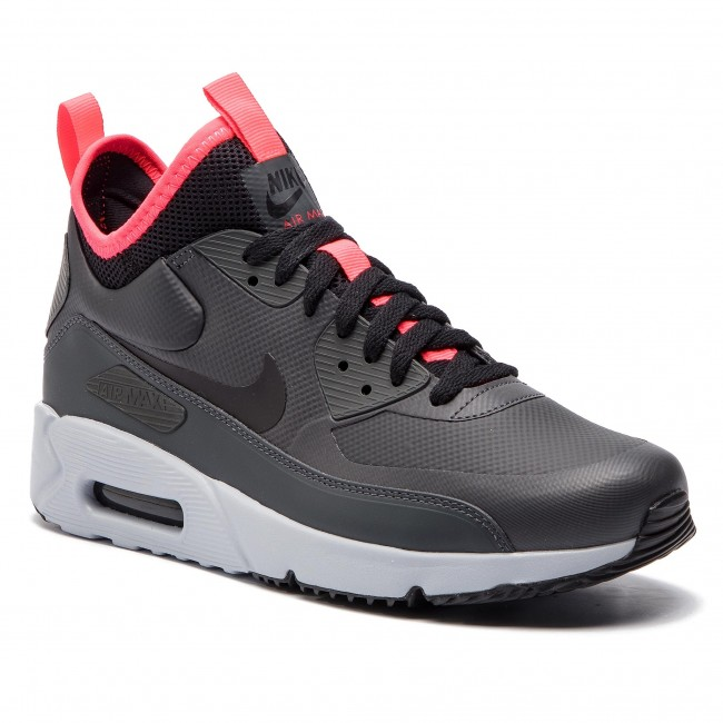 b60ac800ebb Chaussures NIKE - Air Max 90 Ultra Mid Winter 924458 003  Anthracite Black Solar